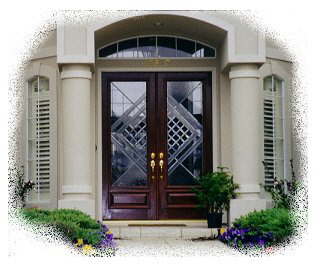 entry doors-Texas Wholesale Doors-mahogany doors-beveled glass ...